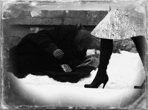 Homeless-snow