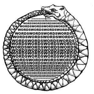 Ouroboros of Words