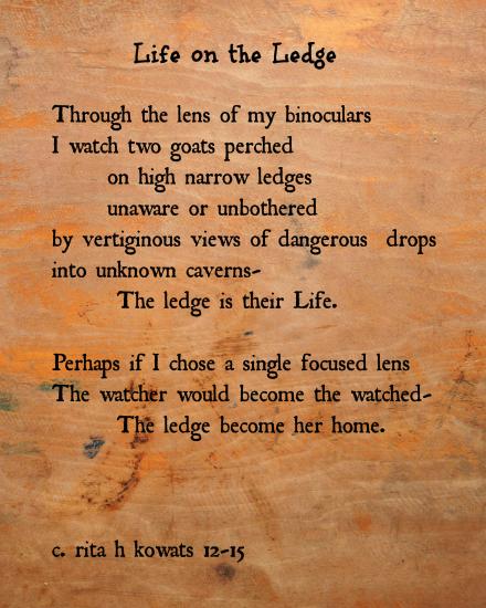 Life on the Ledge