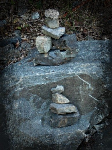 cairns with smudge effect