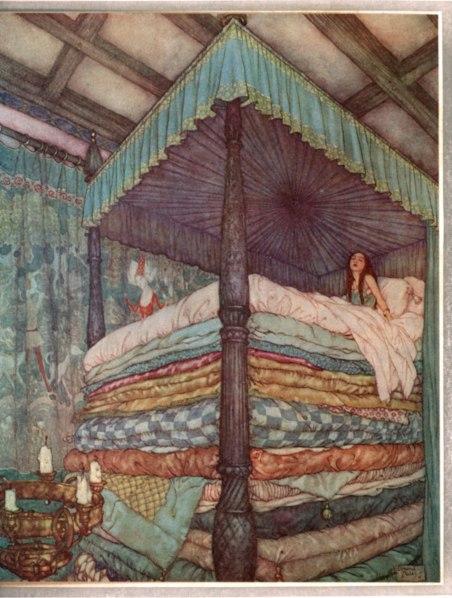 Edmund_Dulac_-_Princess_and_pea